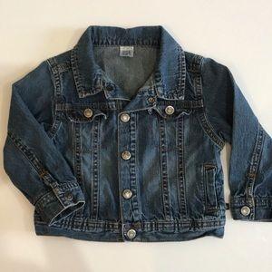 CARTER'S Denim Blue Jean Jacket 24mo EUC